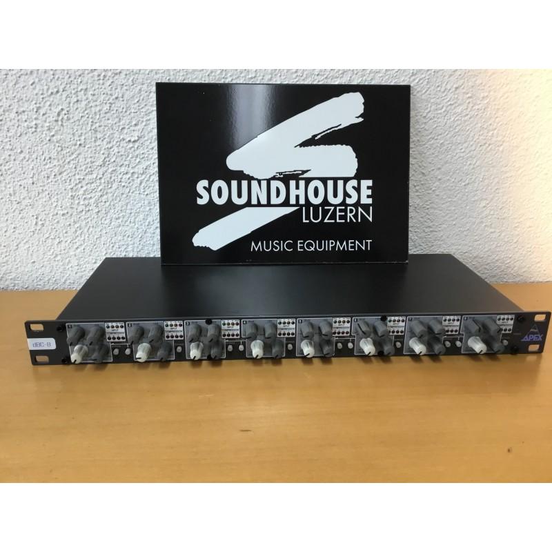Apex Audio dBC-8 Eight Channel Compressor Occasion_1047