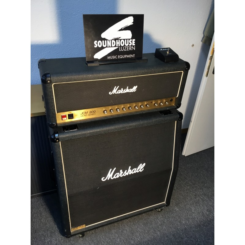 "Marshall JCM800 Head & 4x12"" JCM800 Box Occasion_1076"