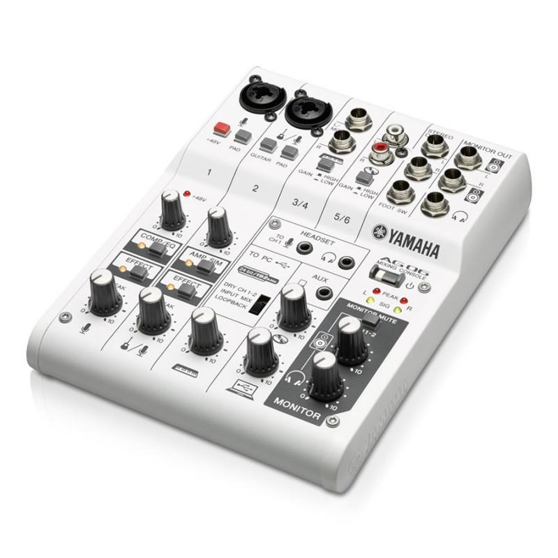 Yamaha AG06 USB Mixer_1179