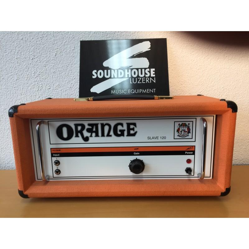 Orange Slave 120 Unit Head Guitar Amp_1201
