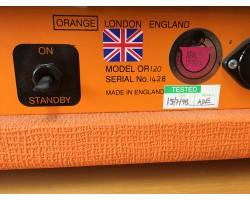 Orange Slave 120 Unit Head Guitar Amp_1204