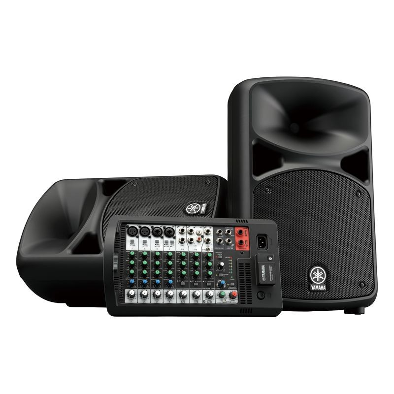 Yamaha Stagepas600BT Portable PA System Bluetooth_1213