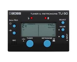 Boss TU-30 Tuner & Metronome_1578