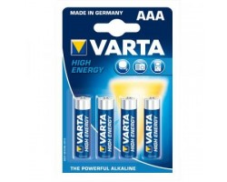 Varta Batterie Micro AAA High Energy LR3 Pack of 4_1666