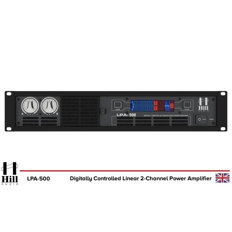 Hill Audio LPA500 Endstufe_1683