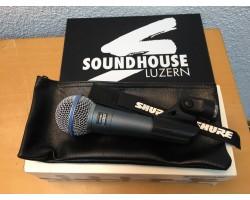 Shure Beta 58A Mikrofon Vocal Vorführmodell_1797