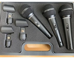Behringer XM1800S Gesangs-Mikrofone 3 er Set Occ._1928