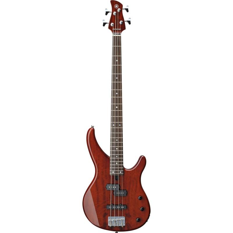 Yamaha TRBX174 EW RTB  Bassgitarre, Rot Beer_2009