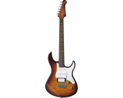 Yamaha Pacifica 212VQM TBS E-Gitarre_2013