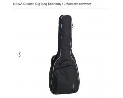 GEWA 212.200 Western Gig-Bag Economy 12 schwarz_2082