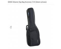 GEWA 212.400 E-Gitarren Gig-Bag Economy 12 schwarz_2083