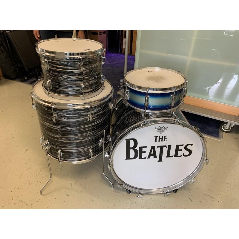 Ausstellungs-Schlagzeug im Retro-Look 4-teilig_2162