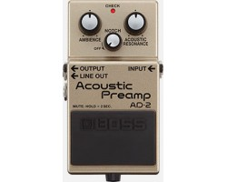 Boss AD-2 ACOUSTIC PREAMP PEDAL_2184