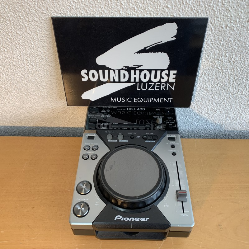 Pioneer CDJ 400 CD Player Occasion_2225