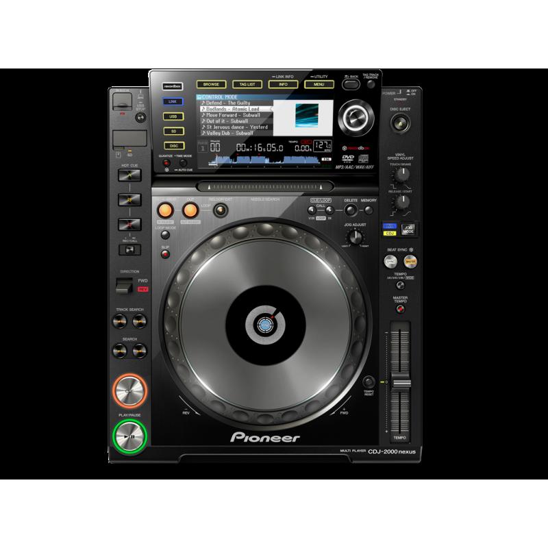 Miete CD Player Pioneer CDJ 2000NXS_2348