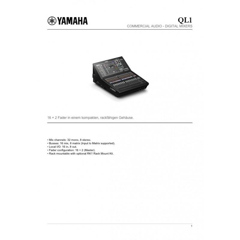 Yamaha QL1 Digitalmischpult_2353