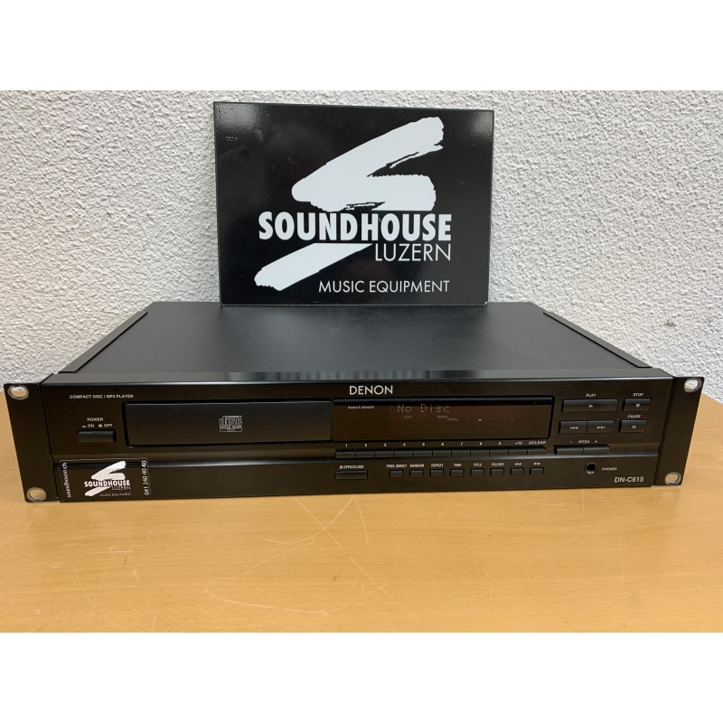 """"""" Denon DN-615 CD-Player mit Pitch Occasion_2360"""