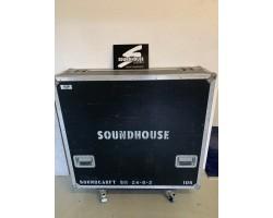MGM Flight Case für Soundcraft 24-8-2Livemischpult_2524