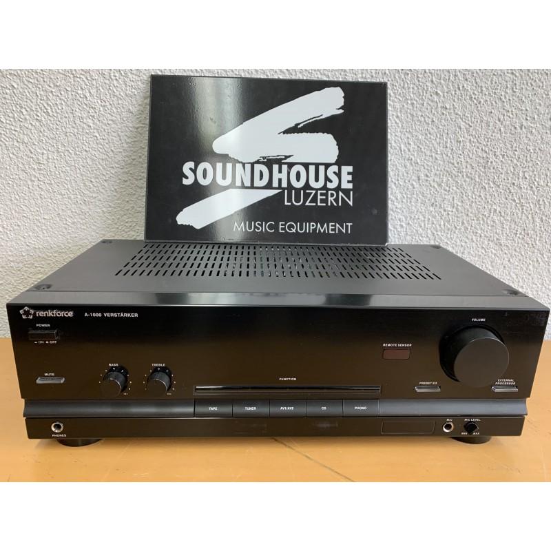 Renkforce A-1000 Stereo-Verstärker Occasion_2748