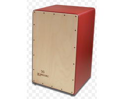 De Gregorio COMPASS Cajon Natural/Red_315