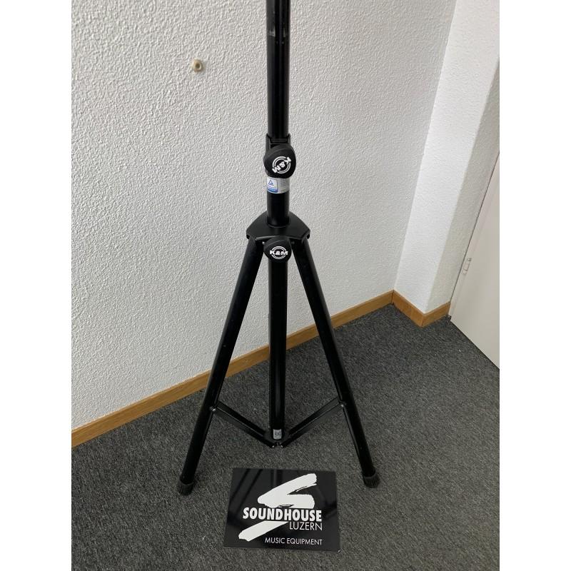 """ K&M 21460.009.55 Boxenstativ, schwarz, Alu Occas_3243"