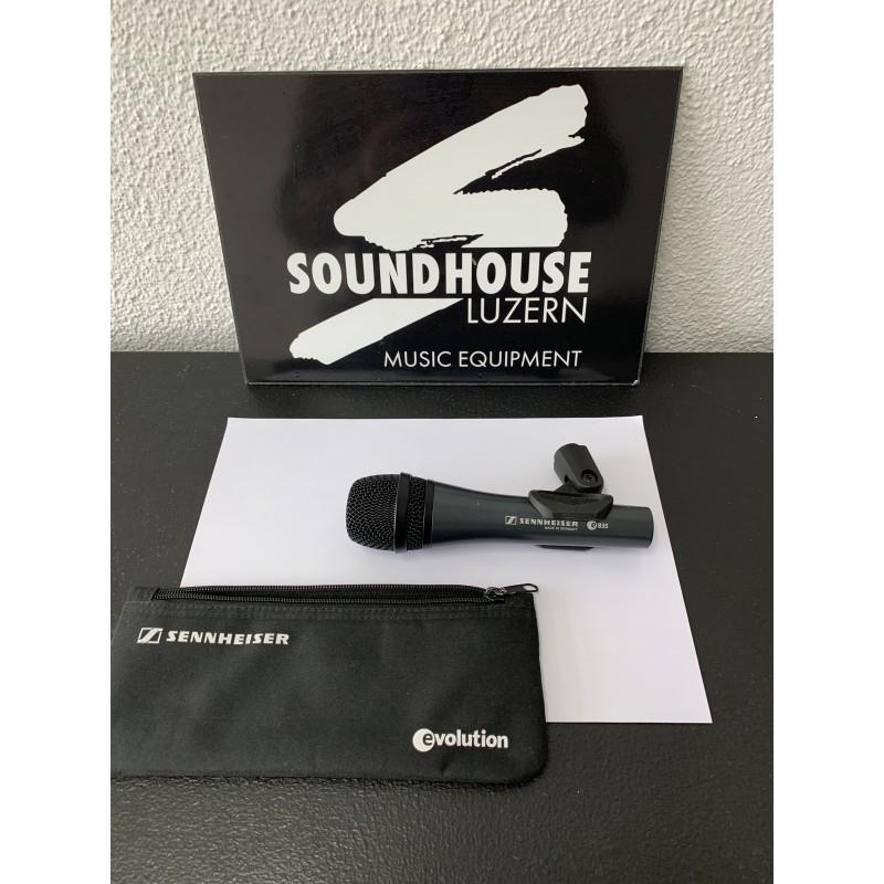 """"""" Sennheiser e835 Gesangs-Mikrofon Occasion_3290"""