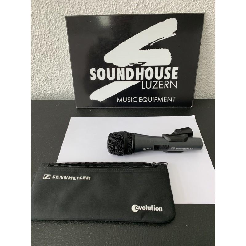 """"""" Sennheiser e835s Gesangs-Mikrofon Occasion_3294"""