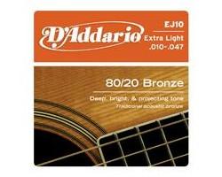 D'Addario EJ10 6-String Gitarren-Saiten Acoustic_405