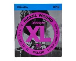 D'Addario EXL120 Saiten für elektrische  Gitarre_406