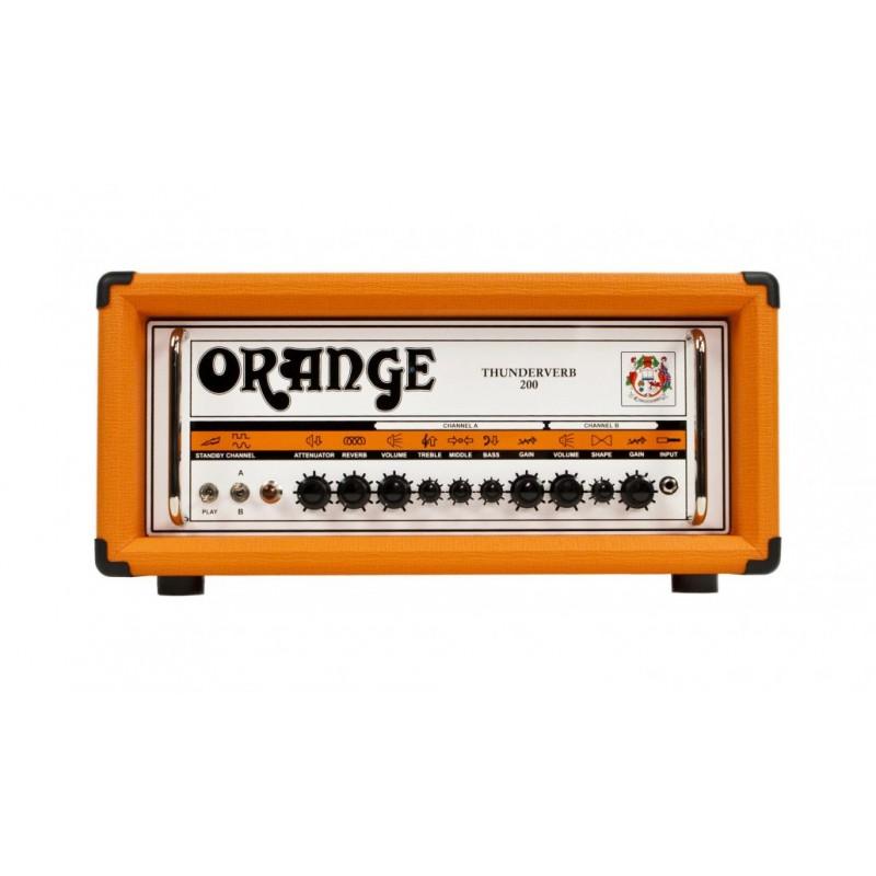 Orange Thunderverb 200H Guitar Head_452