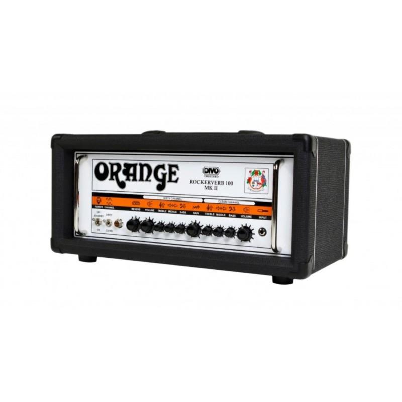 Orange RK100H MKII-BLK Guitar Head Black_460