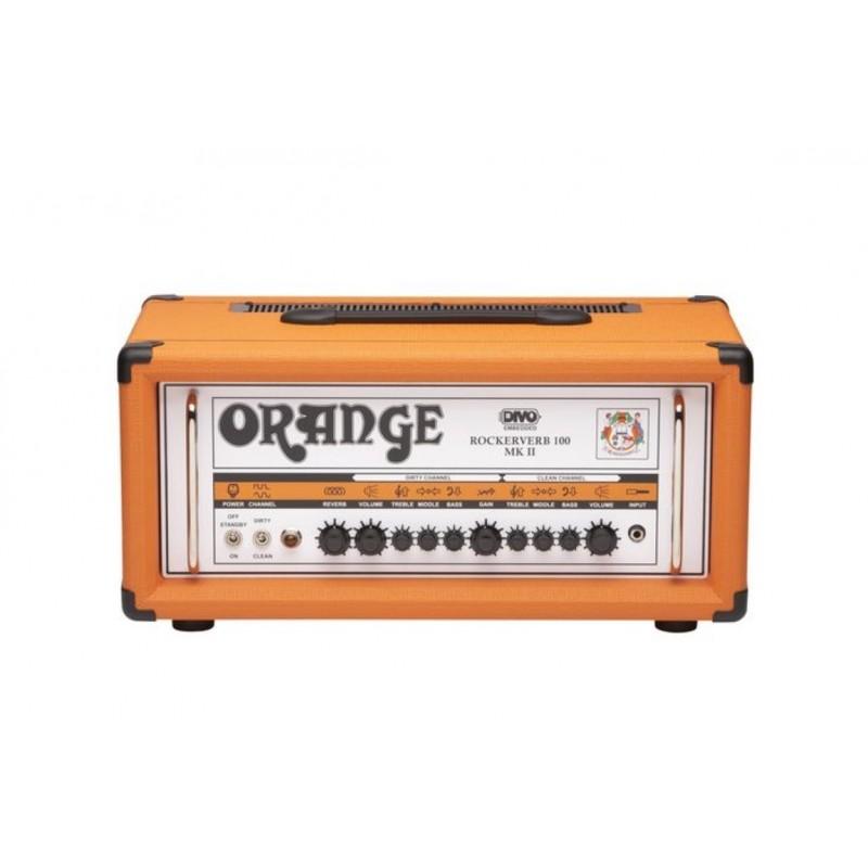 Orange Rockerverb 100H MKII DIVO Guitar Head_497