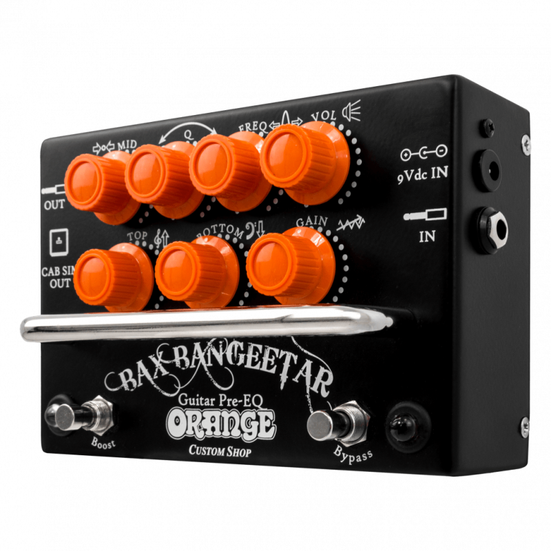 Orange Bax Bangeetar OR/BLK Pedal_509