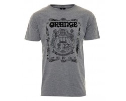 Orange MC-T-SHIRT-CREST-GREY-S, T-Shirt_524