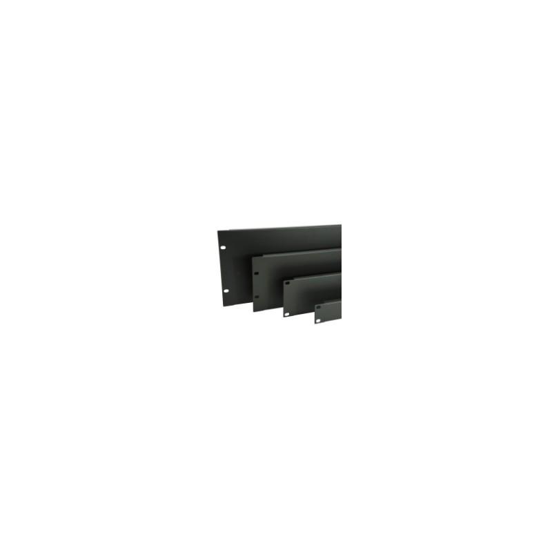 """Penn Elcom R1268/2Uk 19""""-Rackblende, 2HE, Stahl_677"""