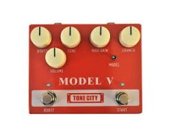 Tone City Model V Deluxe Guitar-Effektpedal_888