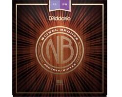 D'Addario NB1152 Acoustic Gitarren-Saiten_933