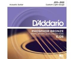 D'Addario EJ26 6-String Gitarren-Saiten Acoustic_957